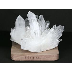 天然水晶 クラスター・原石 (マダガスカル産)  No.54 パワーストーン 天然石|forestblue