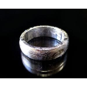 ギベオン隕石 リング・指輪 forestblue