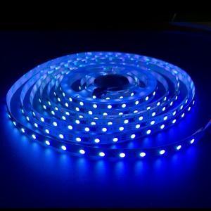 プロ仕様 LEDテープライト10mm幅 5M ブルー(白ベース)