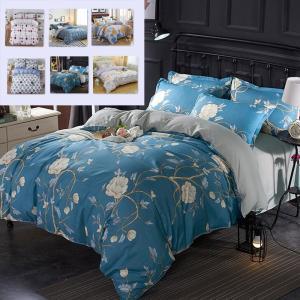 シーツ セット 枕カバー  布団カバー ベッド用品 寝具 4点 セミダブル シングル 綿 コットン |forestjapan