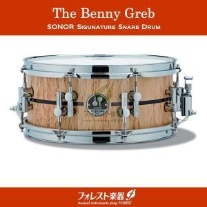 SONOR ソナー スネアドラム ベニー・グレブ シグネチャーモデル SSD10-13575BG|forestmusic