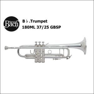 バック<Bach> トランペット Stradivarius 180ML 37/25 GBSP (ゴールドブラスベル・銀メッキ仕上げ)|forestmusic