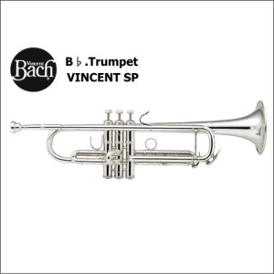 バック<Bach> トランペット VINCENT ヴィンセント SP (イエローブラスベル・銀メッキ仕上げ)|forestmusic