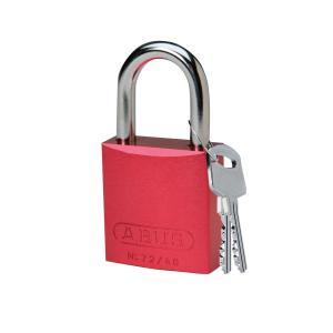 ロックアウトツール アルミ製 パドロック 赤 25.4mm シャックル|foresttech