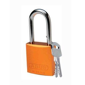 ロックアウトツール アルミ製 パドロック オレンジ 38.1mm シャックル|foresttech