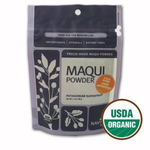 オーガニック マキベリー ローフード スーパーフード/ Navitas Naturals maqui berry powder(ナビタスナチュラルズ マキベリーパウダー)85g