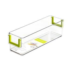 PET Refrigerator Storage Box, Storage Rack, Clear