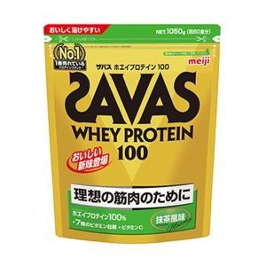 ザバス SAVAS ホエイプロテイン 100 抹茶風味<50食分> 1050g|formacho365