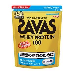 ザバス SAVAS ホエイプロテイン 100 ヨーグルト風味<50食分> 1050g|formacho365