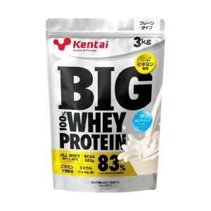 kentai(ケンタイ)BIG 100% ホエイプロテイン プレーンタイプ 3kg|formacho365