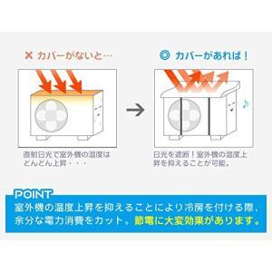 伊勢藤 イセトー エアコン室外機カバー エアコン室外機用カバー I-235|formalshopping|02