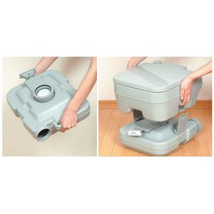 【送料込】 本格派 ポータブルトイレ 10L 水洗 formalshopping 02