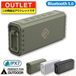 アウトレット Bluetoothスピーカー 防水 ブルートゥース スピーカー 高音質 重低音 大音量 ステレオ ワイヤレス IPX7 SDカード ポータブル 小型 おしゃれ HW2 forties