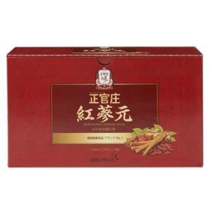 正官庄 紅蔘元 100ml×10本|fortress