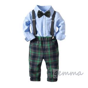 c2bf28f1e3034 タキシード 男の子 ベビー スーツ 結婚式 4点セット キッズ ベビー服 赤ちゃん 卒業式 入学式 入園式 発表会 子供 フォーマル