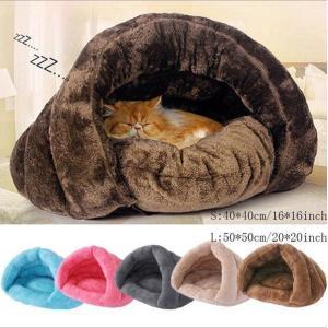 ペットベッド 冬 犬 猫 ぶくろ 保温 寝袋 ボア エコ クッション 洗える あったか 暖かい おすすめ  クッションベッド ソファベッド マット敷き物|fortuna-gemma