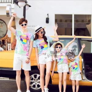 親子 ペアルック お揃い 半袖 Tシャツ ハーフパンツ メンズ レディース 女の子 男の子 子供服 親子ペア 服 カップル 夏 海 砂浜 旅行 出かけ|fortuna-gemma