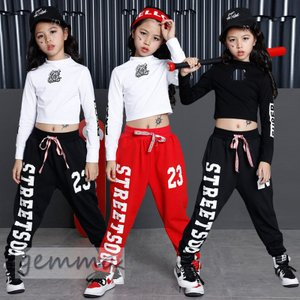 子供 ダンス 衣装 セットアップ キッズダンス ヒップホップ キッズダンス衣装 ステージ衣装 ジャズ...