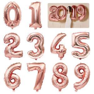 バースデー バルーン 誕生日 飾り 数字 ハート アルミバルーン HAPPY BIRTHDAY 風船