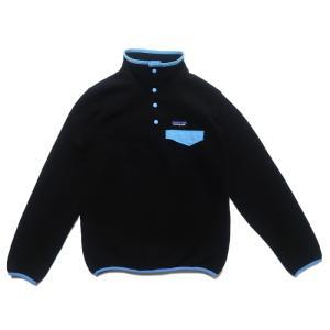 パタゴニア フリースジャケット スナップT ブラック サイズ表記:WOMEN'S S