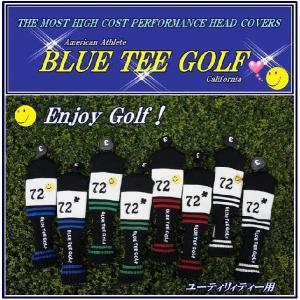 ブルーティーゴルフ BLUE TEE GOLF California72 ニット ユーティリティ用 ヘッドカバー