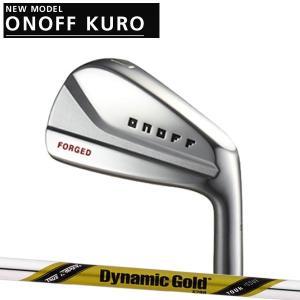オノフ 2020年 NEW KURO 黒 フォージドアイアン 6本セット(#5〜PW) [ダイナミックゴールド ツアーイシュー] スチールシャフト DG ISSUE|forward-green