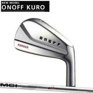 オノフ 2020年 NEW KURO 黒フォージドアイアン 5本セット(#6〜PW) [フジクラ MCIシリーズ] 90/100/110  カーボンシャフト  ONOFF FORGED IRON KURO|forward-green