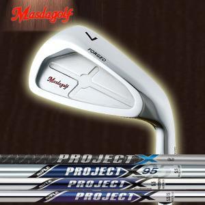 マスダゴルフ CB-01 アイアン  ライフル プロジェクトX シリーズ  プロジェクトX/Pxi  (RIFLE PROJECT X) スチールシャフト 6本セット(#5〜#9, PW)|forward-green