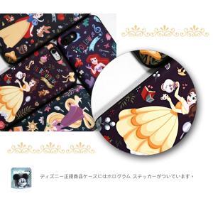 ディズニー プリンセス iPhone xs ケース iphone8 xsmax ケース Disney  カード収納 ミラー付 送料無料 iphone7 手鏡 鏡 ミラー メイク|foufou|17
