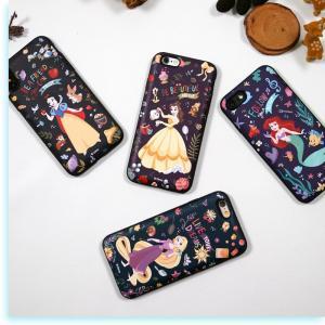 ディズニー プリンセス iPhone xs ケース iphone8 xsmax ケース Disney  カード収納 ミラー付 送料無料 iphone7 手鏡 鏡 ミラー メイク|foufou|06
