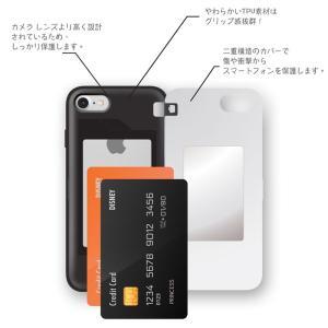 ディズニー プリンセス iPhone xs ケース iphone8 xsmax ケース Disney  カード収納 ミラー付 送料無料 iphone7 手鏡 鏡 ミラー メイク|foufou|08