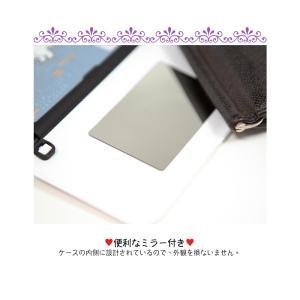 iphone xs ケース くまのプーさん ピグレット pooh WINNIE THE POOH ディズニー カード収納ミラー付ケース iPhonexsmax ケース  手鏡 鏡 ミラー|foufou|12