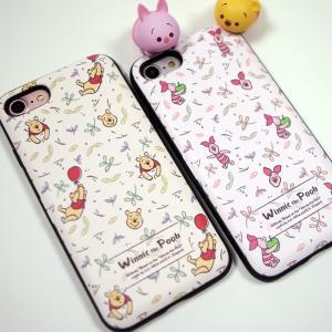 iphone xs ケース くまのプーさん ピグレット pooh WINNIE THE POOH ディズニー カード収納ミラー付ケース iPhonexsmax ケース  手鏡 鏡 ミラー|foufou|05