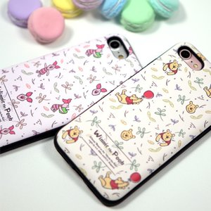 iphone xs ケース くまのプーさん ピグレット pooh WINNIE THE POOH ディズニー カード収納ミラー付ケース iPhonexsmax ケース  手鏡 鏡 ミラー|foufou|06