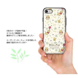 iphone xs ケース くまのプーさん ピグレット pooh WINNIE THE POOH ディズニー カード収納ミラー付ケース iPhonexsmax ケース  手鏡 鏡 ミラー|foufou|09
