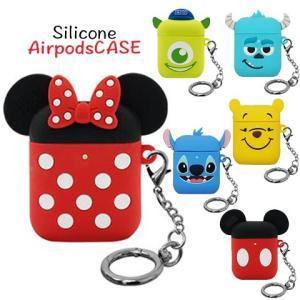 airpods ケース カバー ディズニー disney キャラクター iPhone