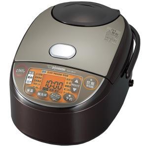 象印 IHジャー炊飯器 5.5合 極め炊き 黒まる厚釜 NW-VB10-TA ブラウン 497430...
