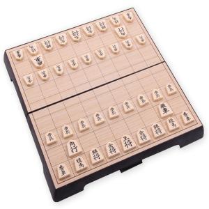 将棋 おりたたみ 携帯 マグネット 磁石 おもちゃ 持ち運び ボードゲーム 25×25cm