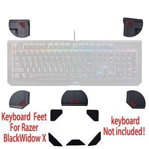 Huyun新しいキーボードの足&マット&足パッドのRazer BlackWidow X Chroma...