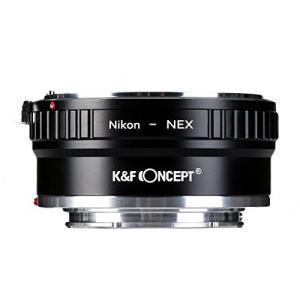 銅アダプタK & F Conceptレンズマウントアダプタfor Nikon AIレンズをSony ...