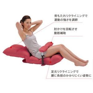 【完売】腹筋座いす(沖縄・離島不可) 腹筋座椅子 AX-HC151 ATEX アテックス あすつく|fourleaf