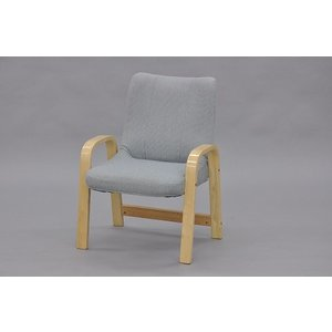 完成品 リビングチェア 2脚セット 送料無料(沖縄・離島不可) スタッキング可能(重ねられます)立ち上り楽椅子 1人掛け椅子 高座椅子|fourleaf