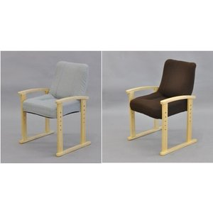 リビングチェア ブラウンorグレー 送料無料(沖縄・離島不可)組立椅子 立ち上り楽椅子 1人掛け椅子 高座椅子|fourleaf