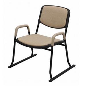 【完売】肘付き アイボリー 立上り楽 座椅子( 4脚セット )正座椅子 ロータイプ座椅子 座敷椅子 集会所 公民館  スタッキングチェア いす イス|fourleaf