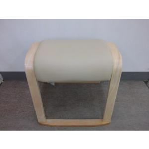 【完売】スツール4脚セット(ナチュラル色)送料無料(沖縄・離島不可)スタッキングチェア(重ねられます)椅子 いす イス  完成品 玄関スツール|fourleaf