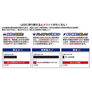 送料無料 セレナ C26 SMD/FLUX/LEDルームランプセット 8P 133発【純正交換式 取付 簡単 バルブ ライト 電球 ホワイト イルミ カプラー オン ボルト|fourms|04
