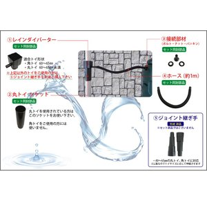 Begreen 雨水タンクセット 200L 【G004】英国製 ビーグリーン|fourseasons|03