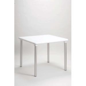マエストラーレ90 ホワイト タカノ ガーデンファニチャー テーブル|fourseasons
