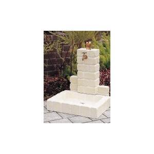 不凍水栓ユニット サークルタイプ パン角型 オフホワイト|fourseasons
