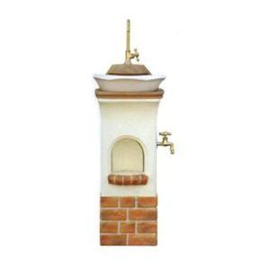 スタンドウォッシュリリー オレンジ ディーズガーデン ディーズデコ 立水栓|fourseasons